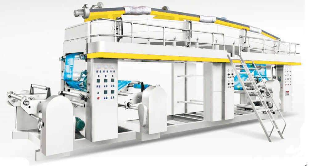 Stable Operation Plastic Lamination Machine , Industrial Laminating Machine 150 M/Min Speed