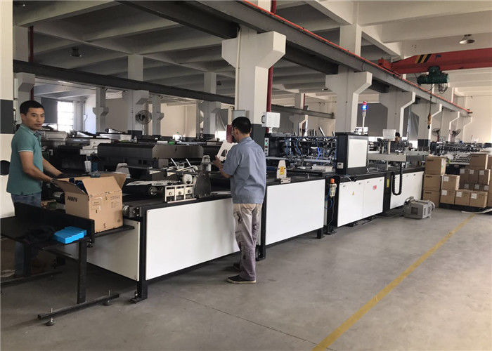 Cosmetic Paper Box Window Patching Machine With Window Film Cutting Function